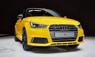 Audi S1 Wears Vegas Yellow for Swiss Debut [Live Photos]