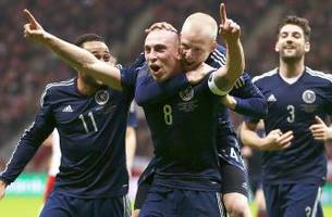 Scotland defeat Poland thanks to Brown goal