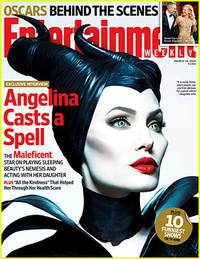 Angelina Jolie Covers 'Entertainment Weekly' As Maleficent!