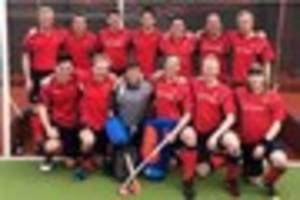 Champions! City of Bath wrap up Davis Wood Hockey League title...